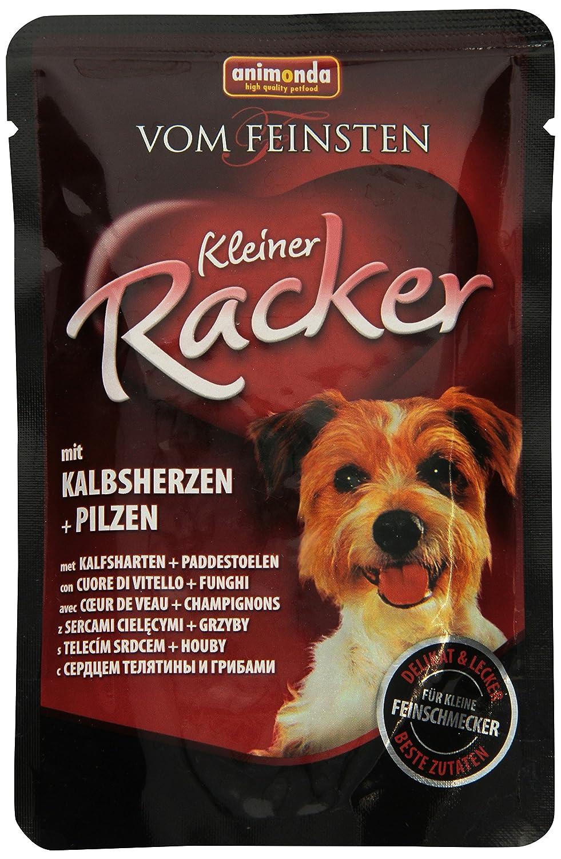 Animonda Vom Feinsten Hundefutter Kleiner Racker mit Kalbsherzen ...