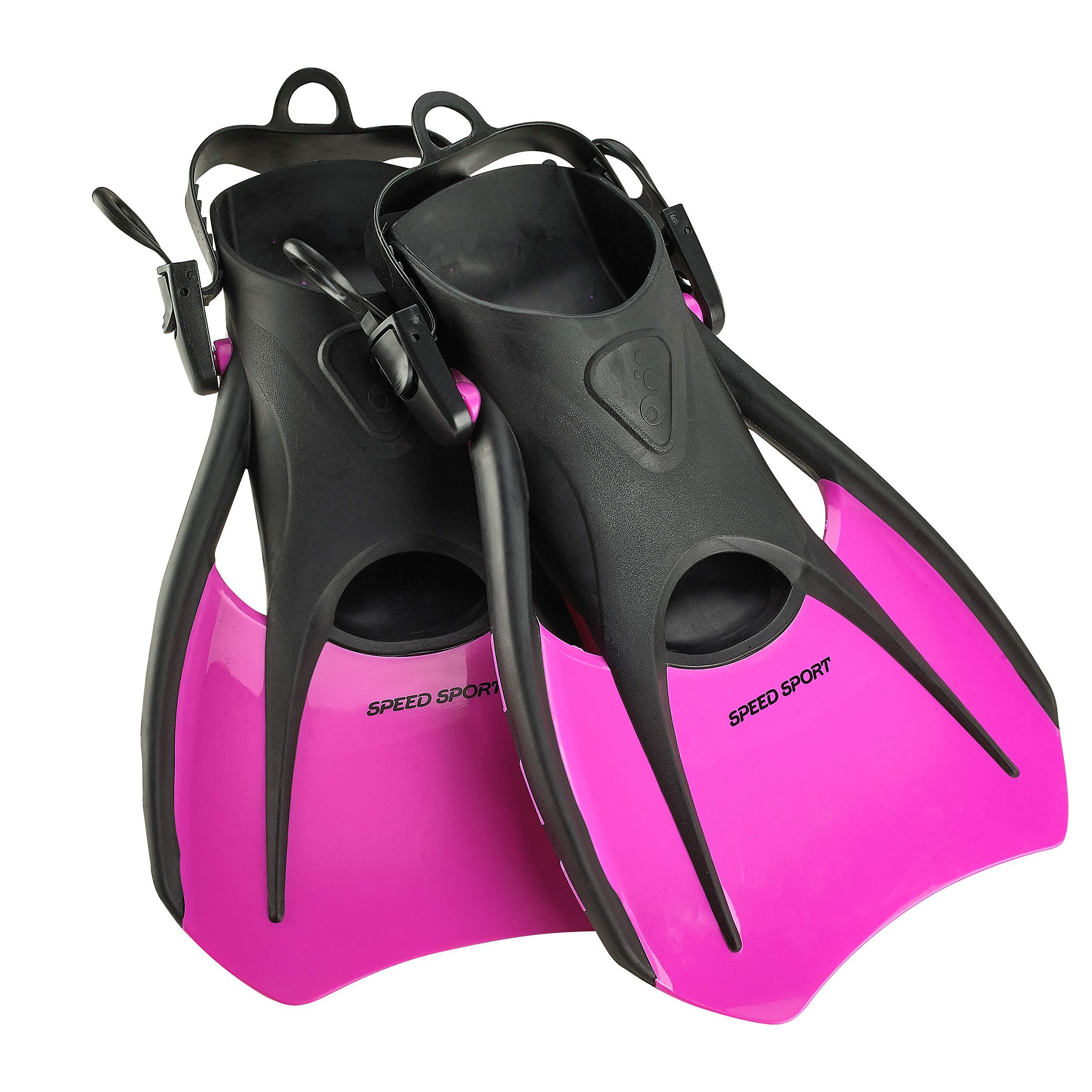 Phantom Aquatics Snorkeling Diving Fins - Open Heel Traveling Sport Fins - PK-SM by Phantom Aquatics