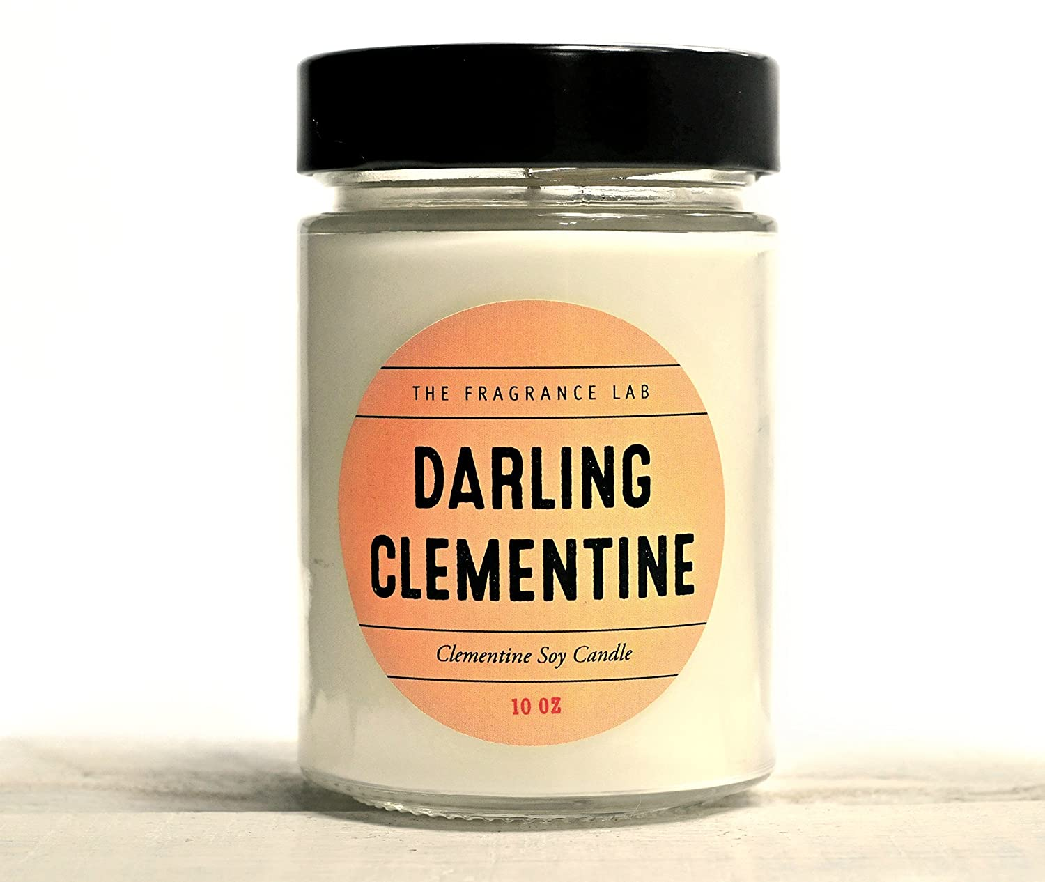 Luxury Soy Candle -Darling Clementine Clementine Scented Candle | The Fragrance Lab
