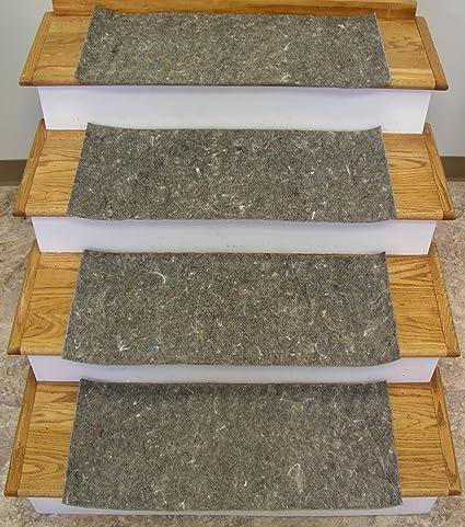 Rug Depot Stair Runner Padding   13 Pad Treads   24u0026quot; X 12u0026quot;