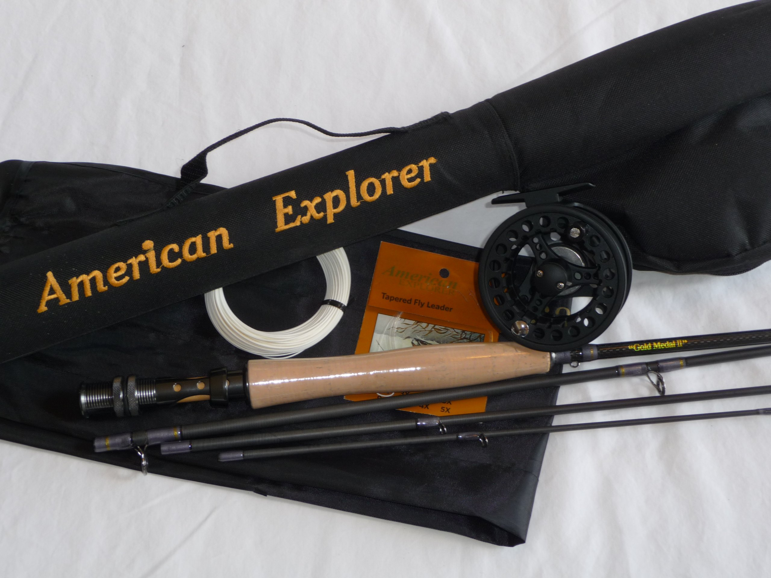 American Explorer IM7 Fly Rod Outfit, 9.0-Feet by American Explorer Brand