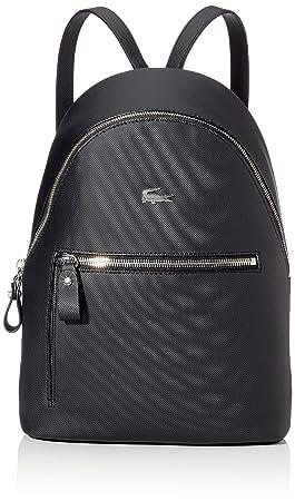 design intemporel c2e5e 43596 Lacoste Femme Daily Classic Sac a Dos Noir (Black): Amazon ...