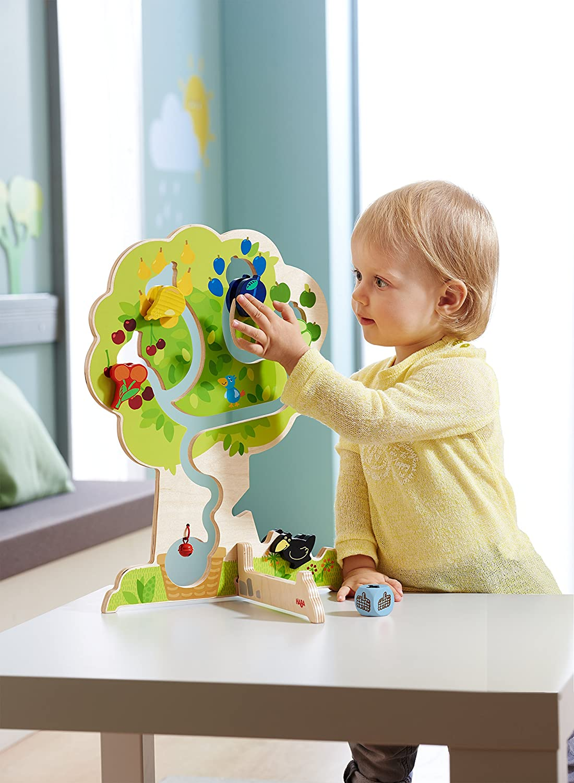 HABA 301475 Wunderschön illustriertes Baby und Kl Magnetspiel Mäusefeuerwehr