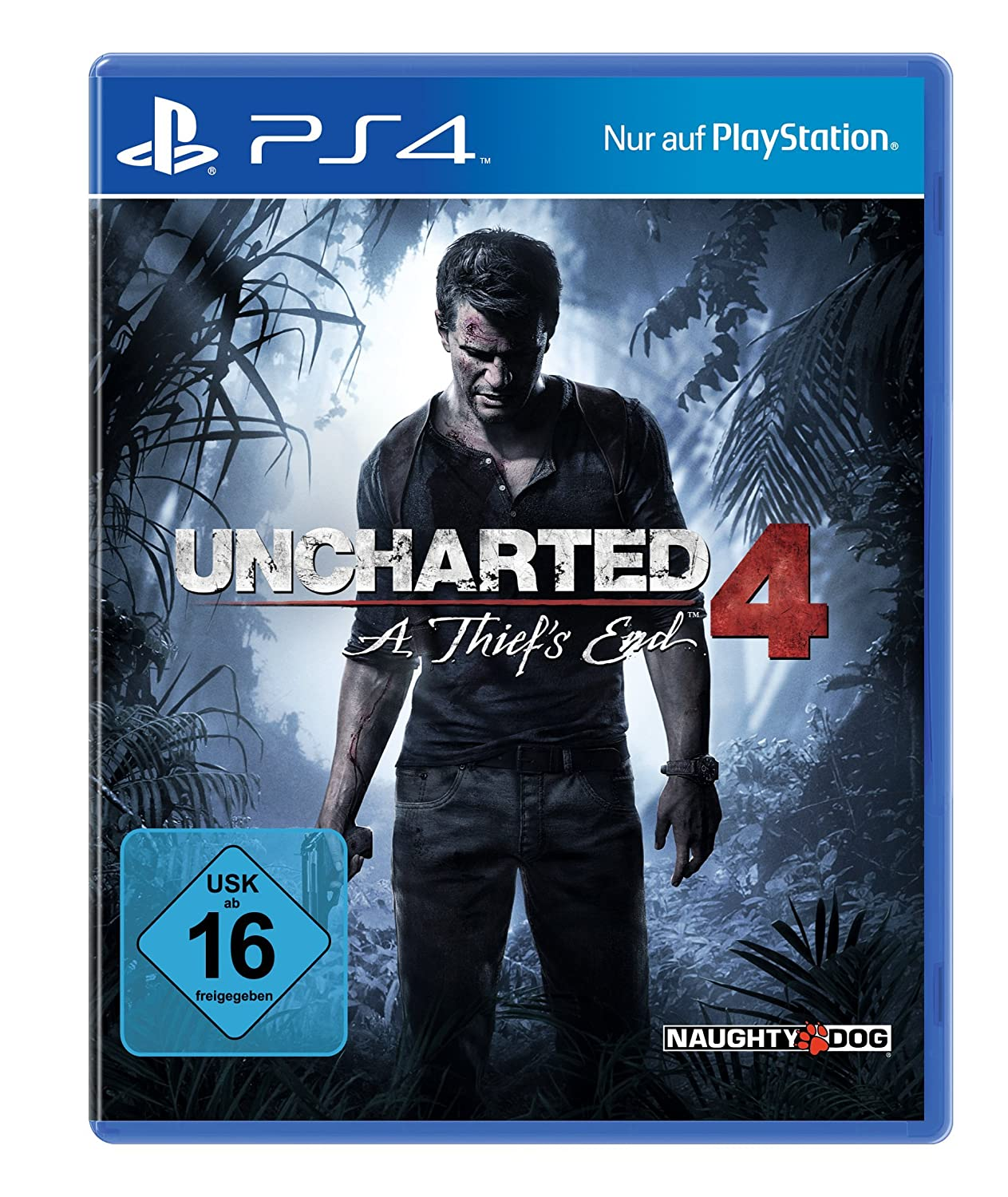 Uncharted 4 PS4 amazon