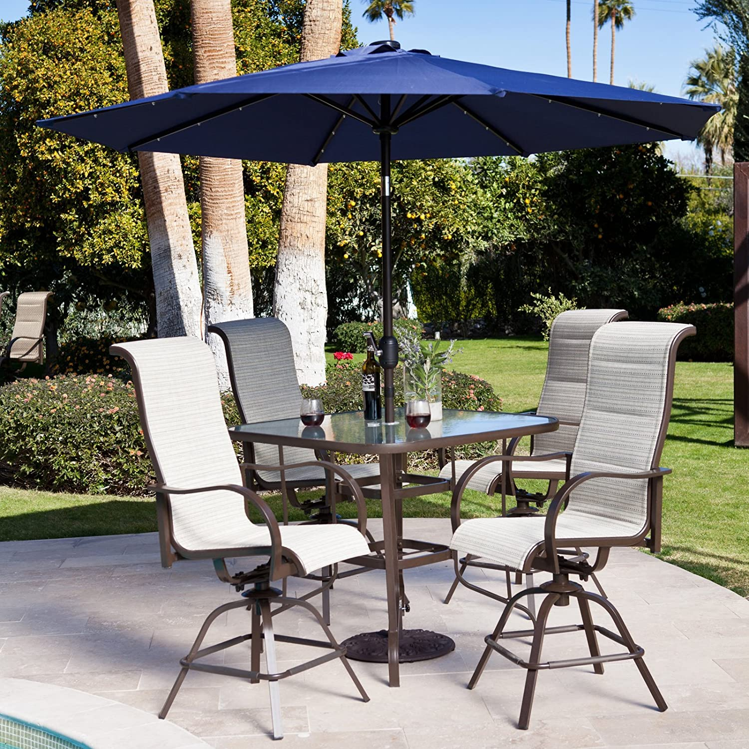 Amazon Coral Coast Del Rey Balcony Height Dining Set