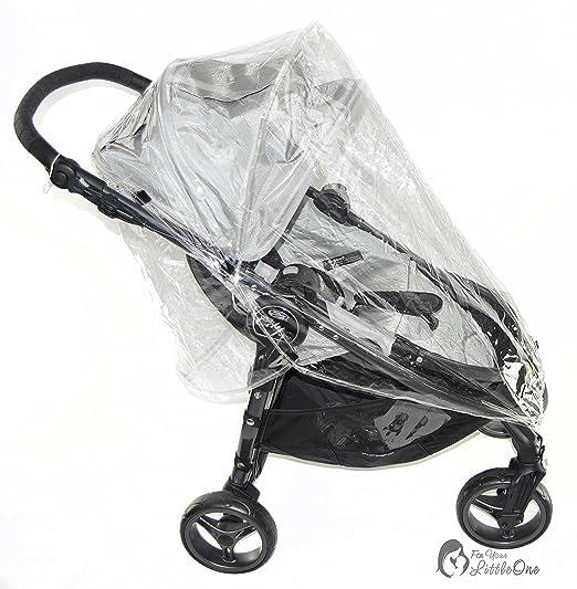 Protector de lluvia compatible con minicochecito Baby Jogger City