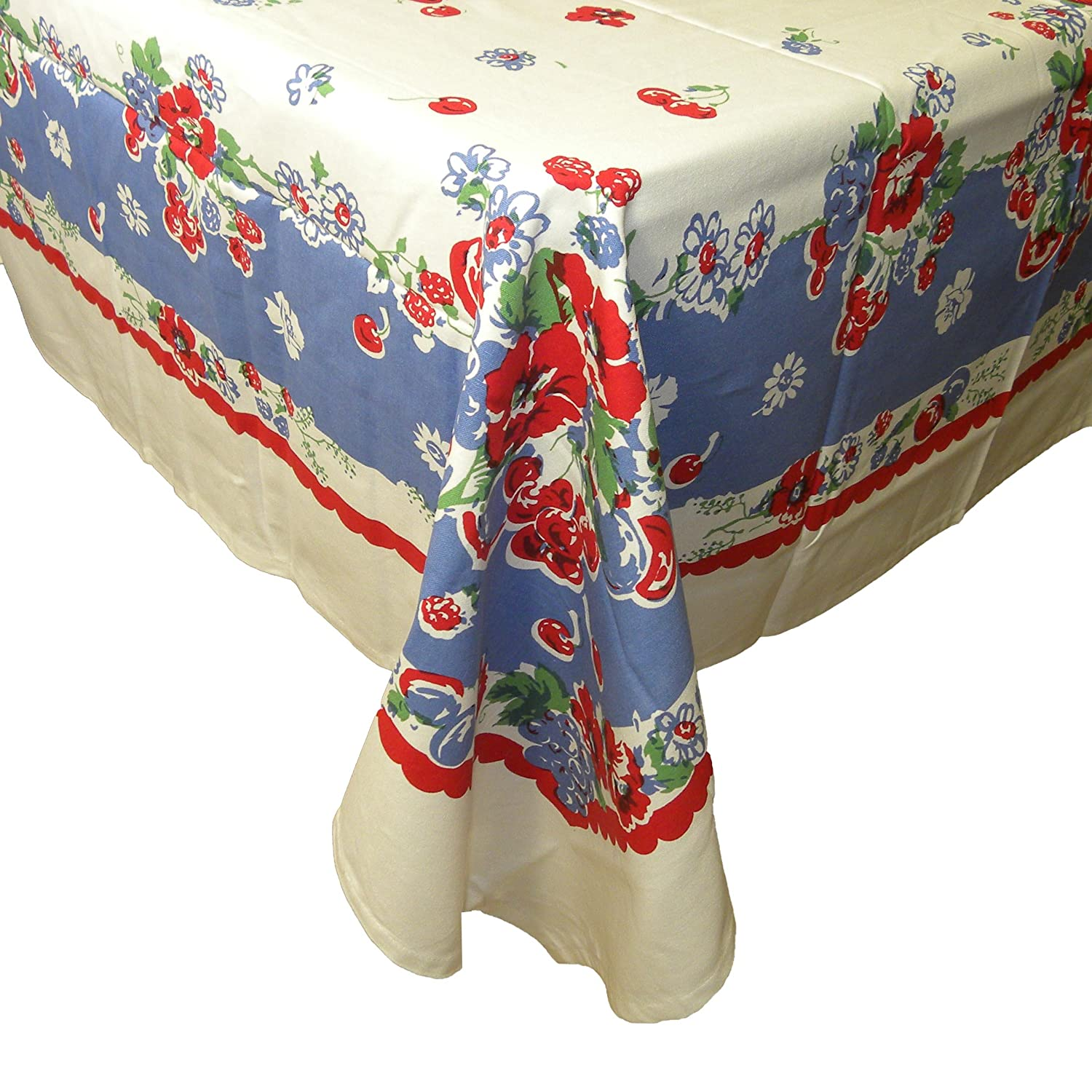 Amazon very berry tablecloth by moda home home kitchen workwithnaturefo