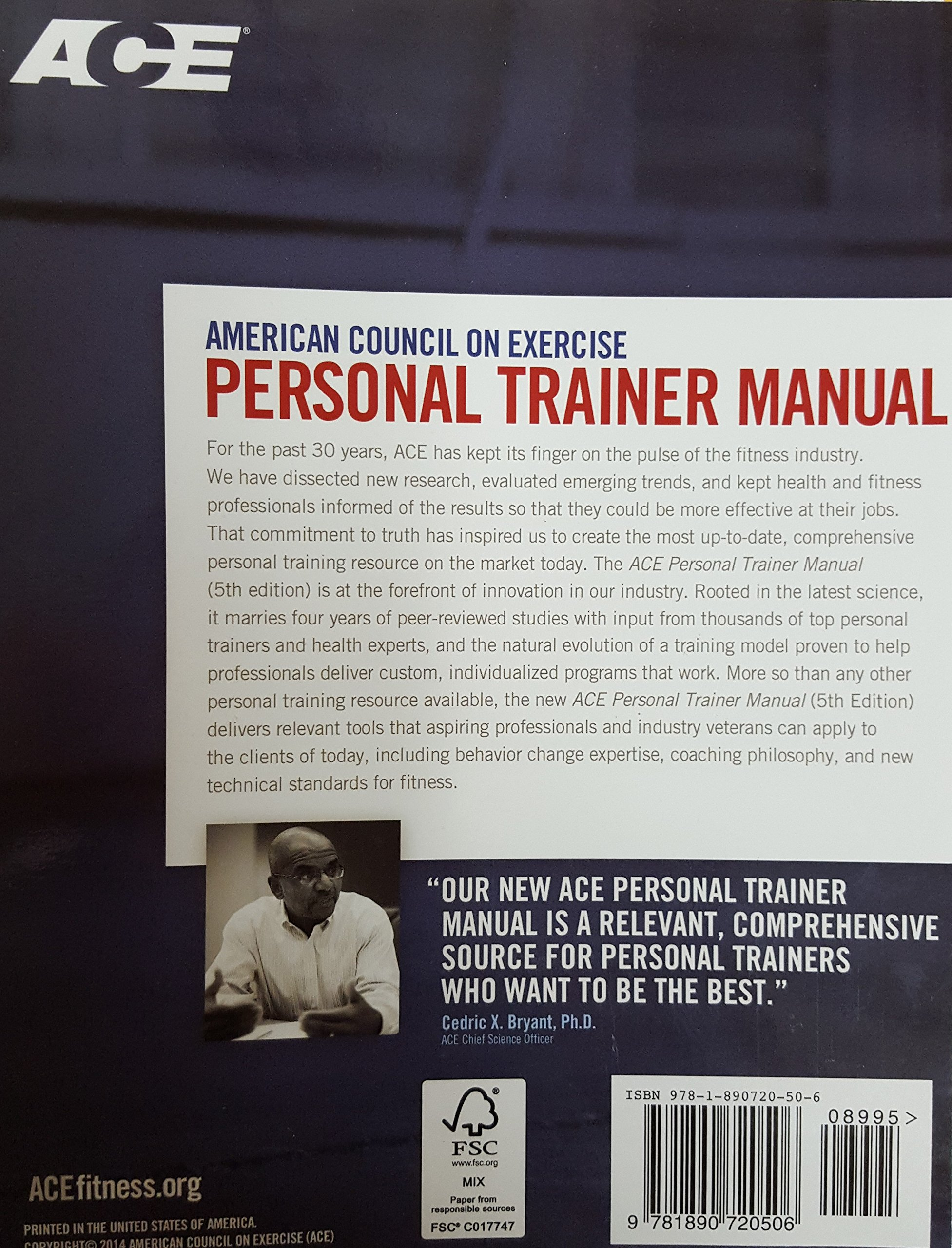 American Council on Exercise Personal Trainer Manual, 5th Edition: American  Concil on Exercise: 9781890720506: Amazon.com: Books