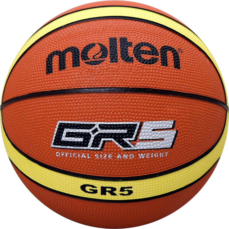 MOLTEN Premium - Balón de Baloncesto de Goma, Talla 5, Color ...