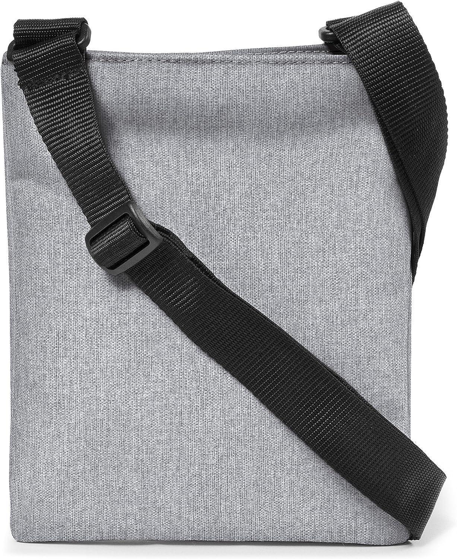 1.5 liters Black Denim 23 cm Noir Eastpak RUSHER Sac bandouli/ère