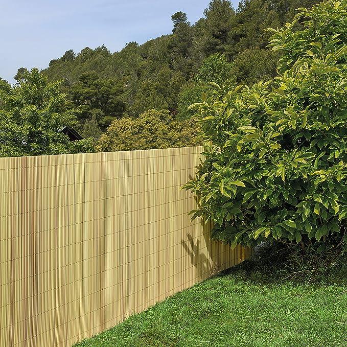 Tenax 1A130275 Colorado Cañizo sintético de Aspecto Natural 500 x 100 cm: Amazon.es: Jardín