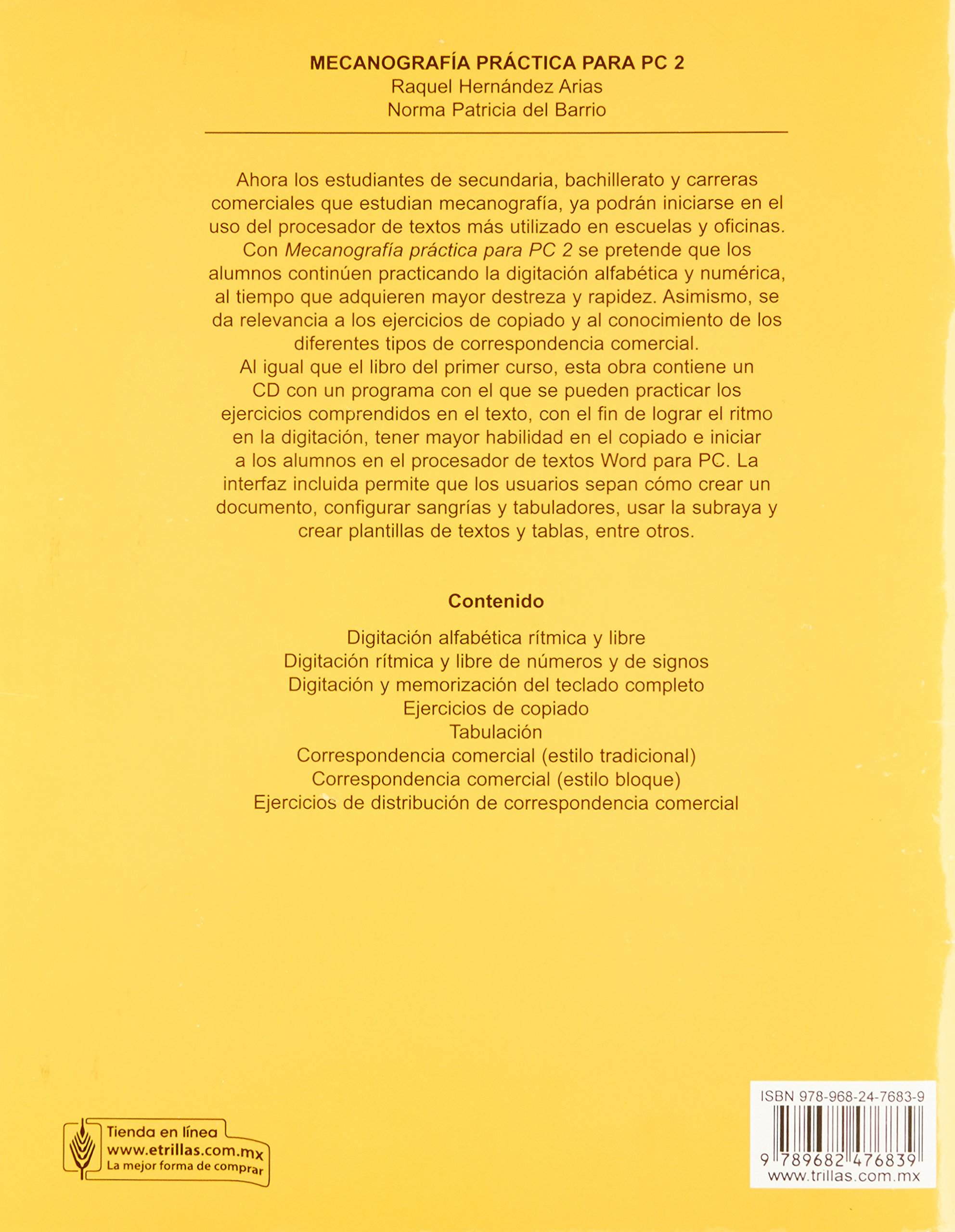 Mecanografia practica para PC / Practical Typing for PC: Para el aprendizaje del teclado en PC / Learning PC keyboard (Spanish Edition): Raquel Hernandez ...