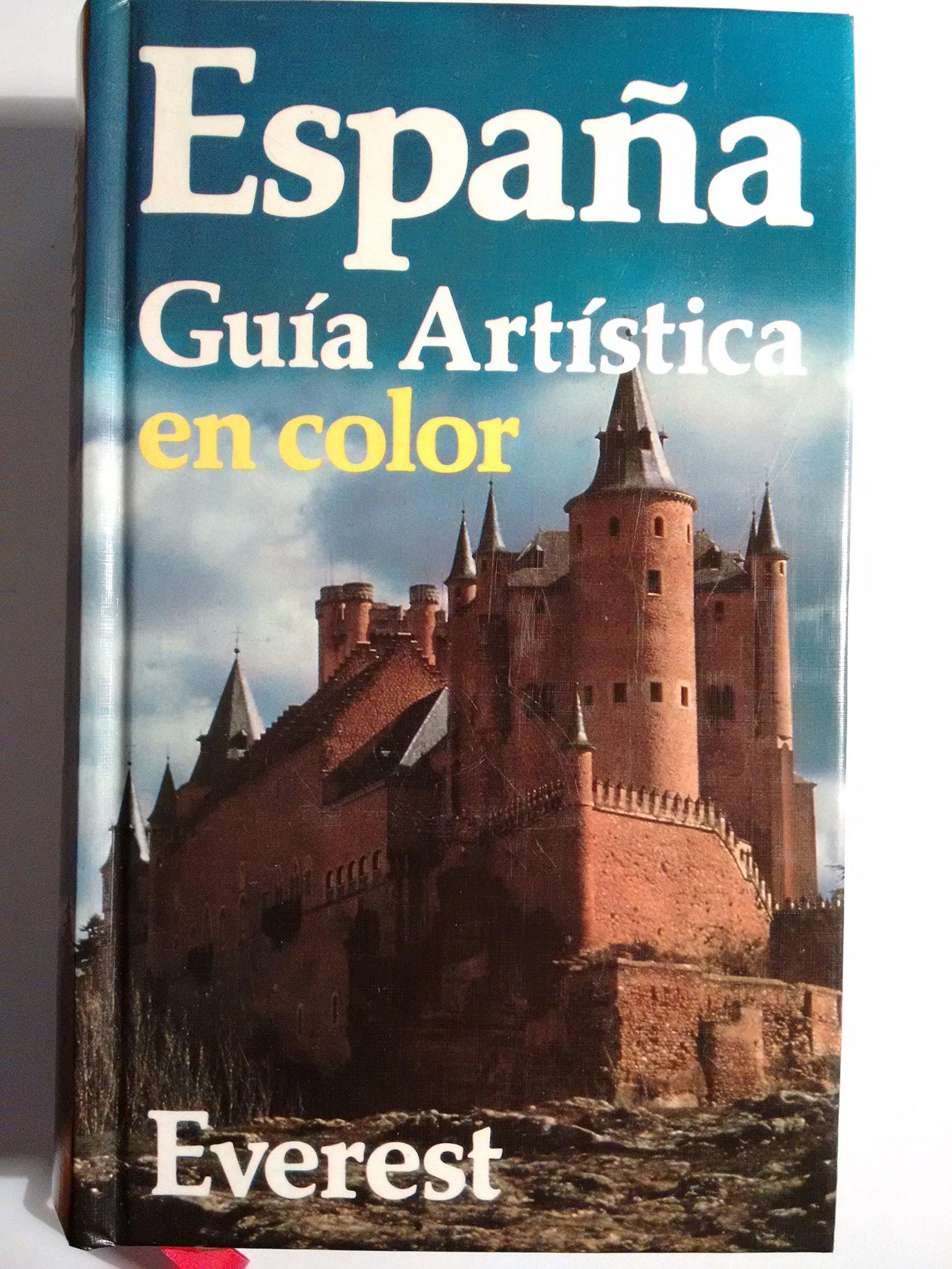 España : guia artistica en color: Amazon.es: Everest: Libros