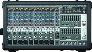 Behringer PMP2000 mezclador DJ: Amazon.es: Electrónica