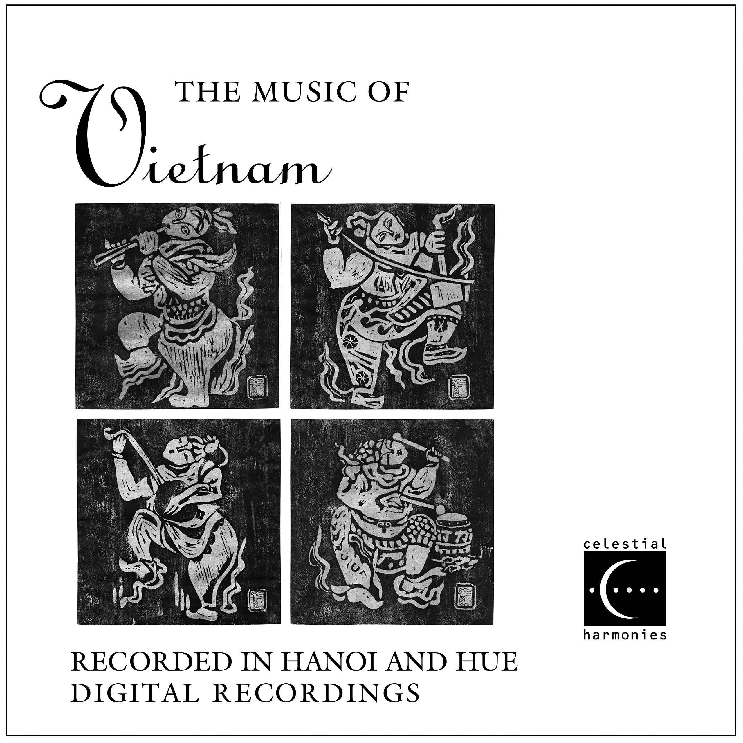 The Music of Vietnam 3 CD Boxed Set by Celestial Harmonies
