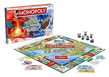 Winning Moves Juego De Mesa Monopoly Tema Pokemon 2 A 4