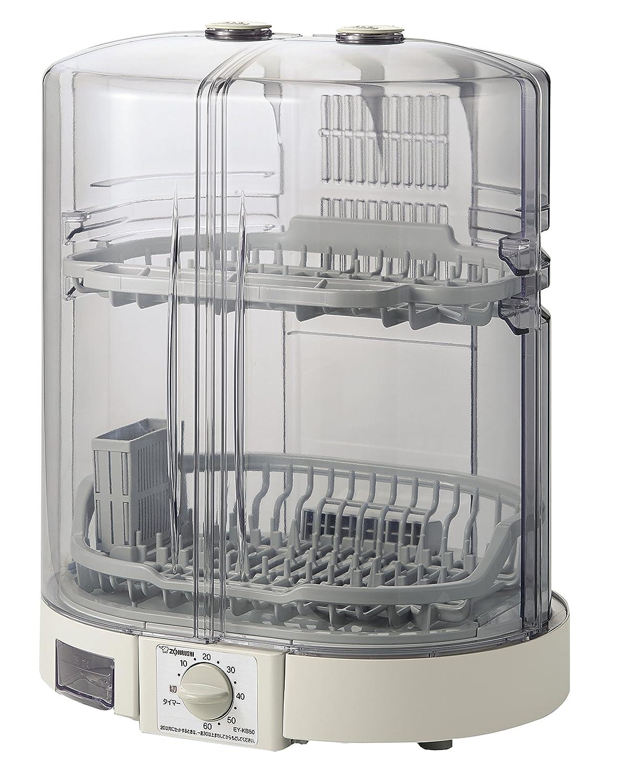 象印 食器乾燥機 縦型 80cmロング排水ホースつき EY-KB50-HA B01244HBUG