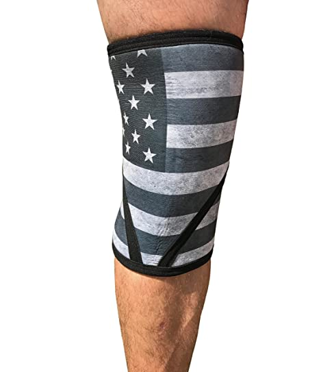 ed17ea8230 Anomaly Knee Sleeves (Pair) Brace for Crossfit, Weightlifting, Sports and  Fitness (