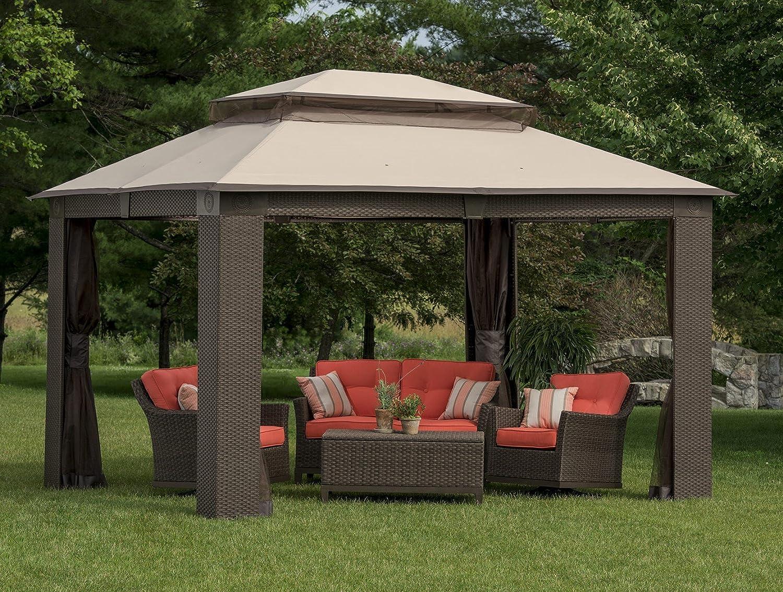 Admirable Amazon Com Berkley Jensen 10X12 Gazebo Garden Outdoor Cjindustries Chair Design For Home Cjindustriesco