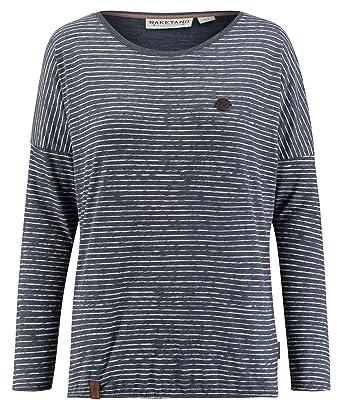 Naketano Damen Shirt Langarm Marine (52) XL  Amazon.de  Bekleidung 4d585223d0