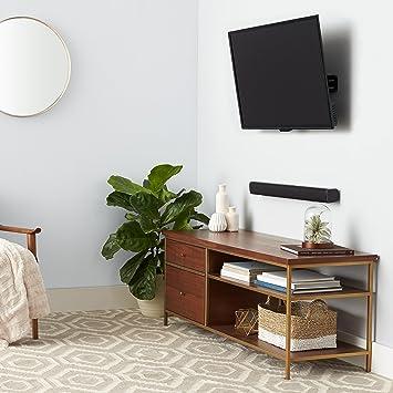 AmazonBasics - Soporte inclinable de montaje en pared para televisores de 37