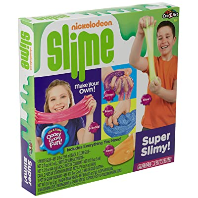 Nickelodeon CRA-Z-Art CRA-Z-Slime Super Slimey Set: Toys & Games
