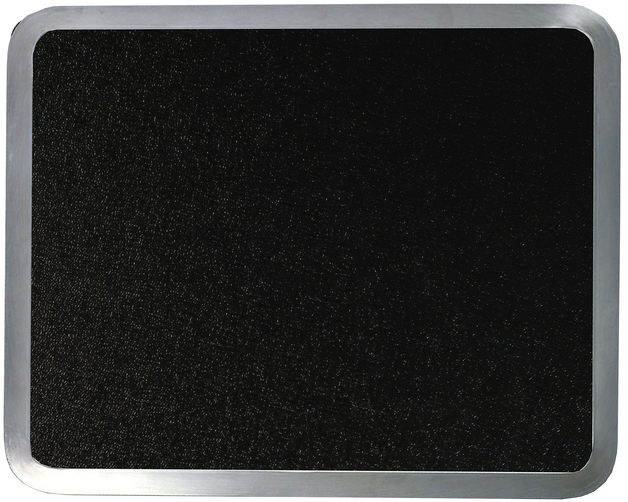 Vance 12 X 15 inch Black Built-in Surface Saver Tempered Glass Cutting Board, 71215BK