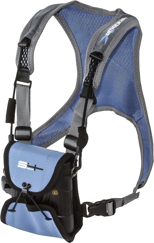 S4 Gear Lockdown X Hands Free Adjustable Binocular Harness for use with Leupold, Nikon, Swarovski, Bushnell, Canon Etc, Blue