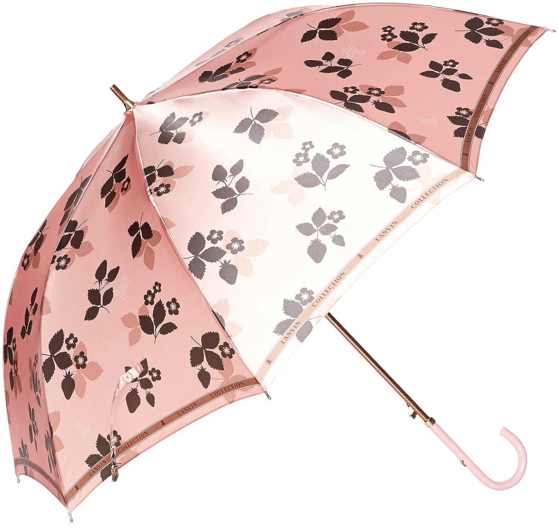 (ムーンバット) MOONBAT ランバンコレクション 長傘(軽量) ポリエステルサテンプリント B07873VWB5 日本 親骨の長さ60cm-(FREE サイズ)|ピンク ピンク 日本 親骨の長さ60cm-(FREE サイズ)
