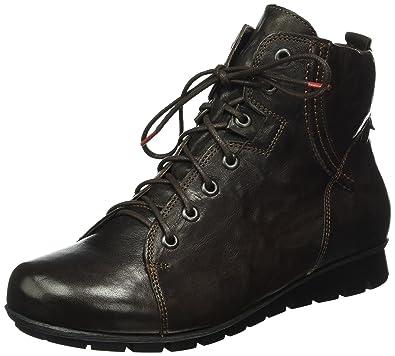Think Damen Menscha_181076 Desert Boots, Schwarz (Schwarz 00), 39.5 EU
