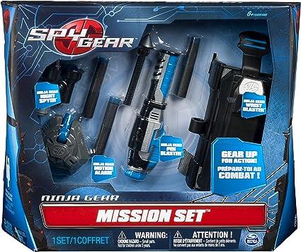 Spy Gear Ninja Mission Set