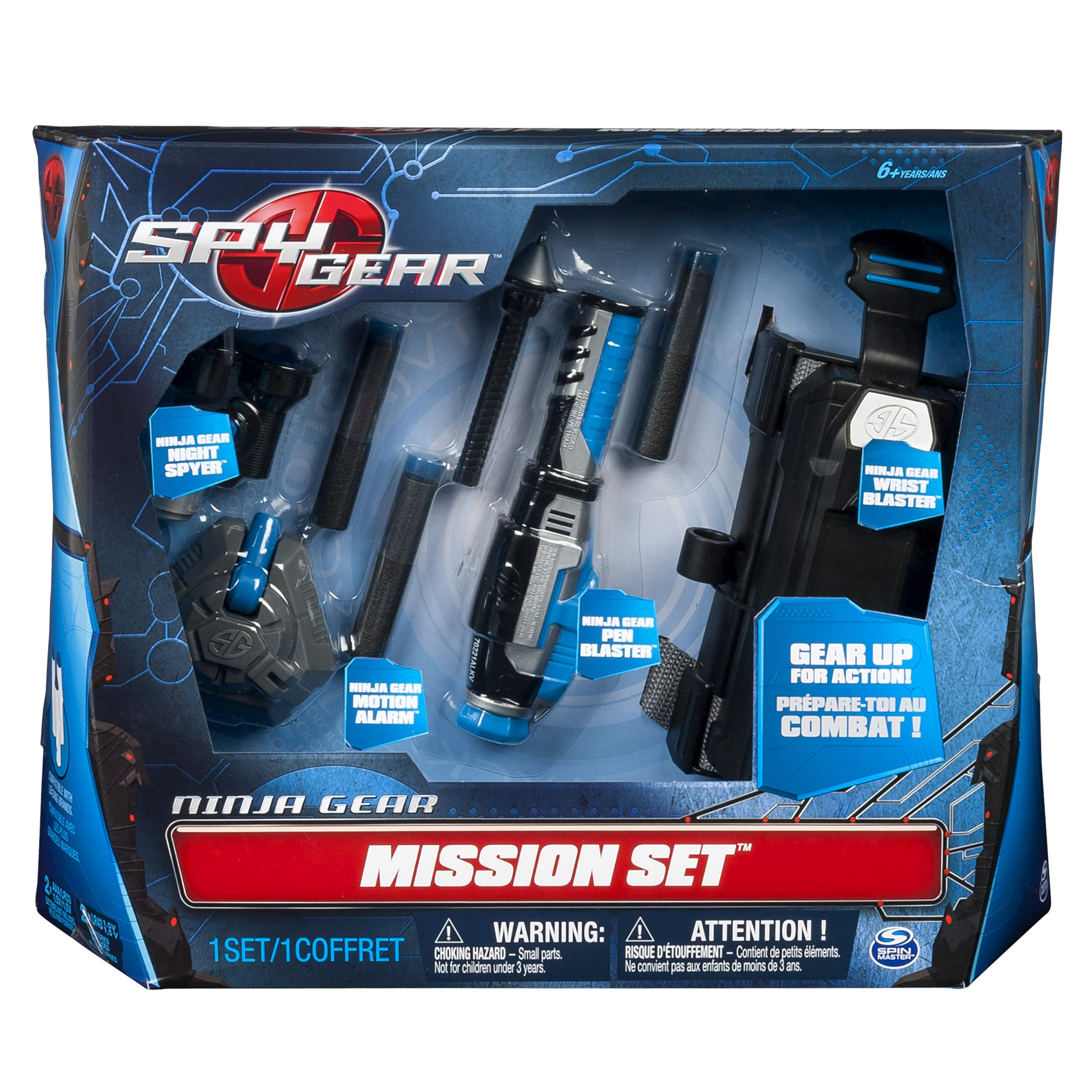 Spy Gear Ninja Mission Set by Spy Gear