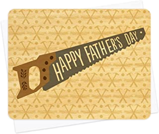 product image for Tool Time Wood Father's Day Card by Night Owl Paper Goods