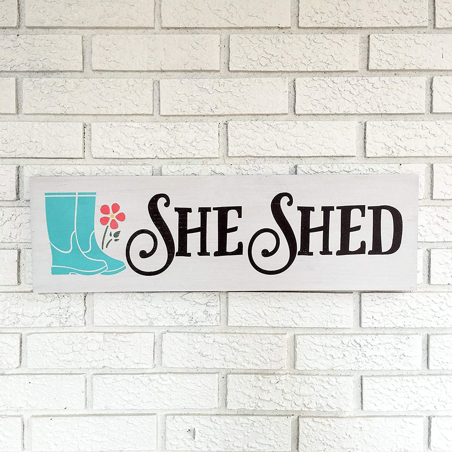 She Shed Sign, She Shed, She Shed Decor, Garden Shed Sign, She Cave, Woman Cave, Art Shed, Potting Shed, Shed Sign, She Shack Wooden Sign Wall Decor Garden Signs and Plaques