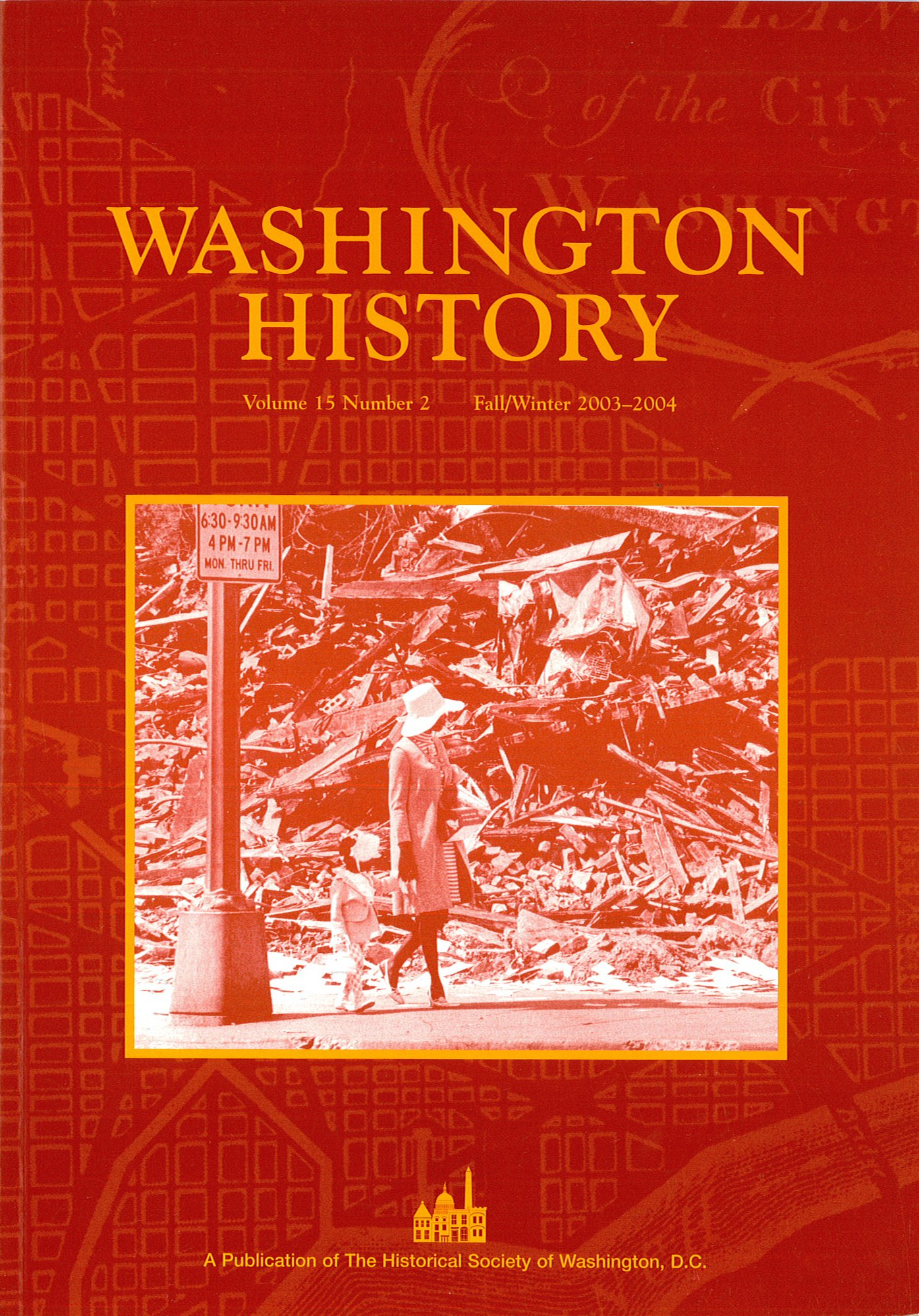 "Read Online ""Washington History: A Publication of The Historical Society of Washington, D.C."" PDF"