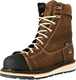 """Timberland PRO Men's Gridworks 8"""" Soft-Toe Waterproof Industrial and Construction Boot"""