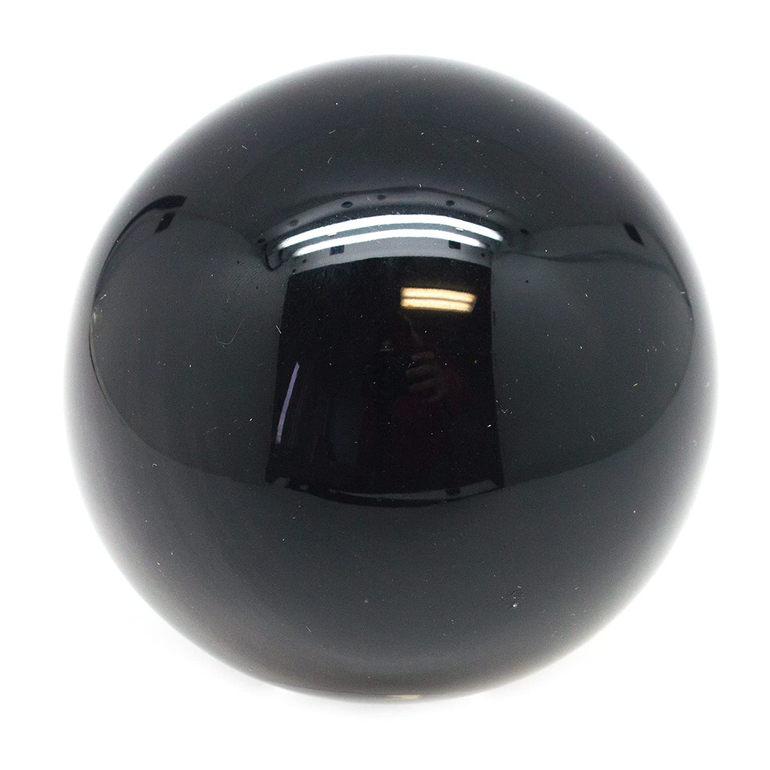 Home Decoration 100/% Natural and Genuine Meditation Mina Heal Obsidian Crystal Ball for Fengshui Ball Crystal Healing Divination Sphere 50 mm