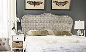 Safavieh Home Collection Imelda White Washed Headboard (Queen)