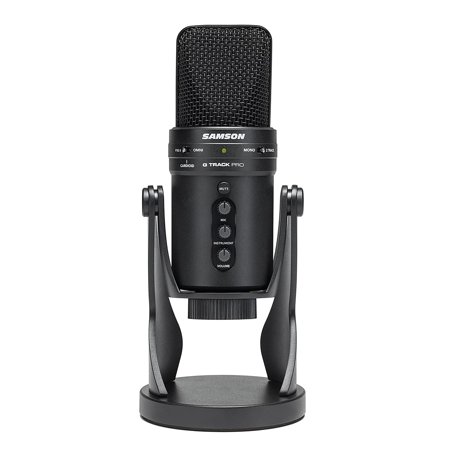 Samson G-Track Pro Professional USB Condenser Microphone with Audio Interface Samson Technologies
