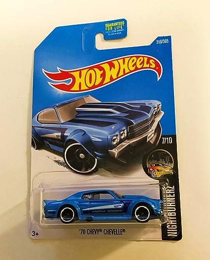 2017 Chevy Chevelle Ss >> Amazon Com Hot Wheels 2017 Nightburnerz 70 Chevy Chevelle