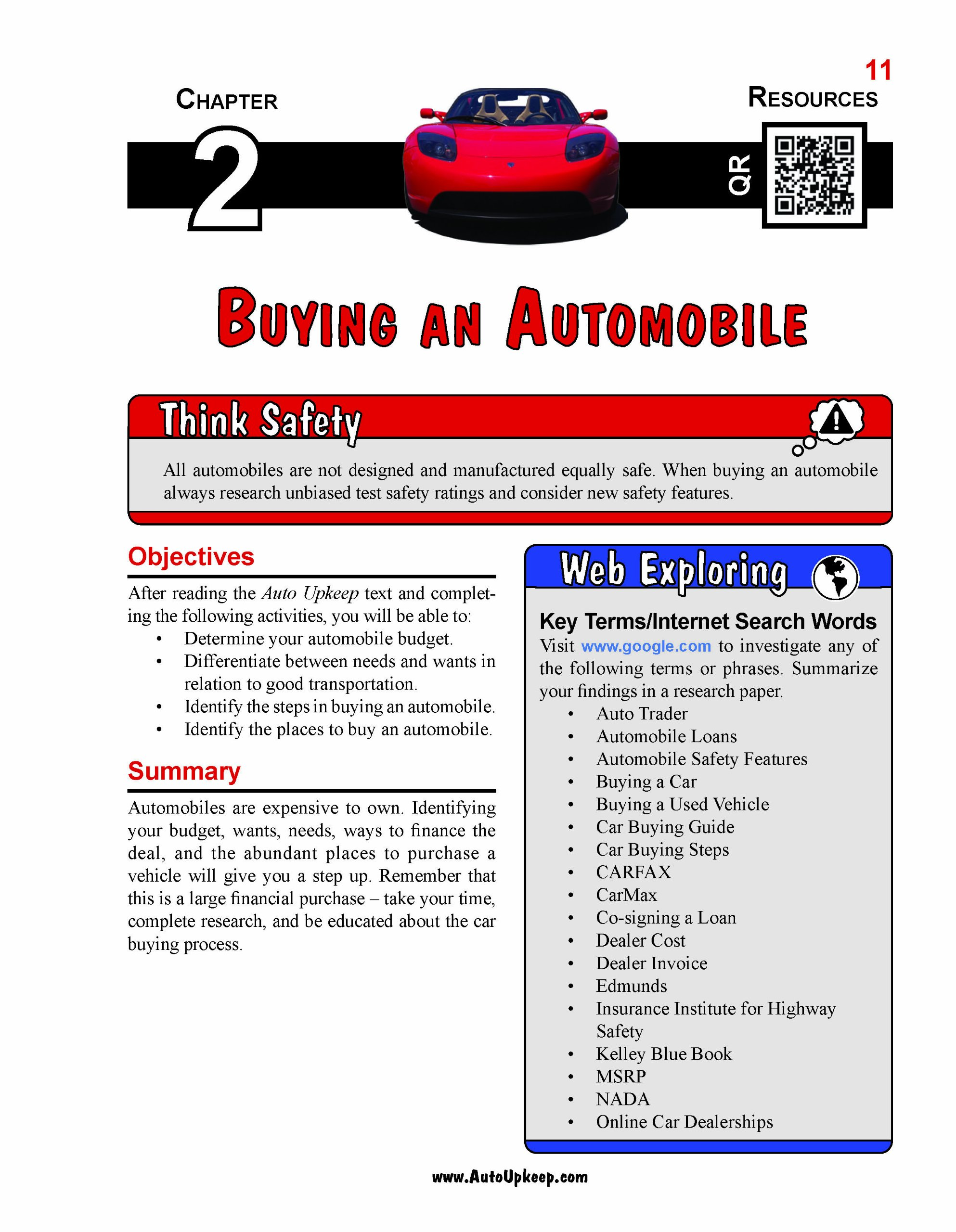 auto upkeep basic car care maintenance and repair workbook