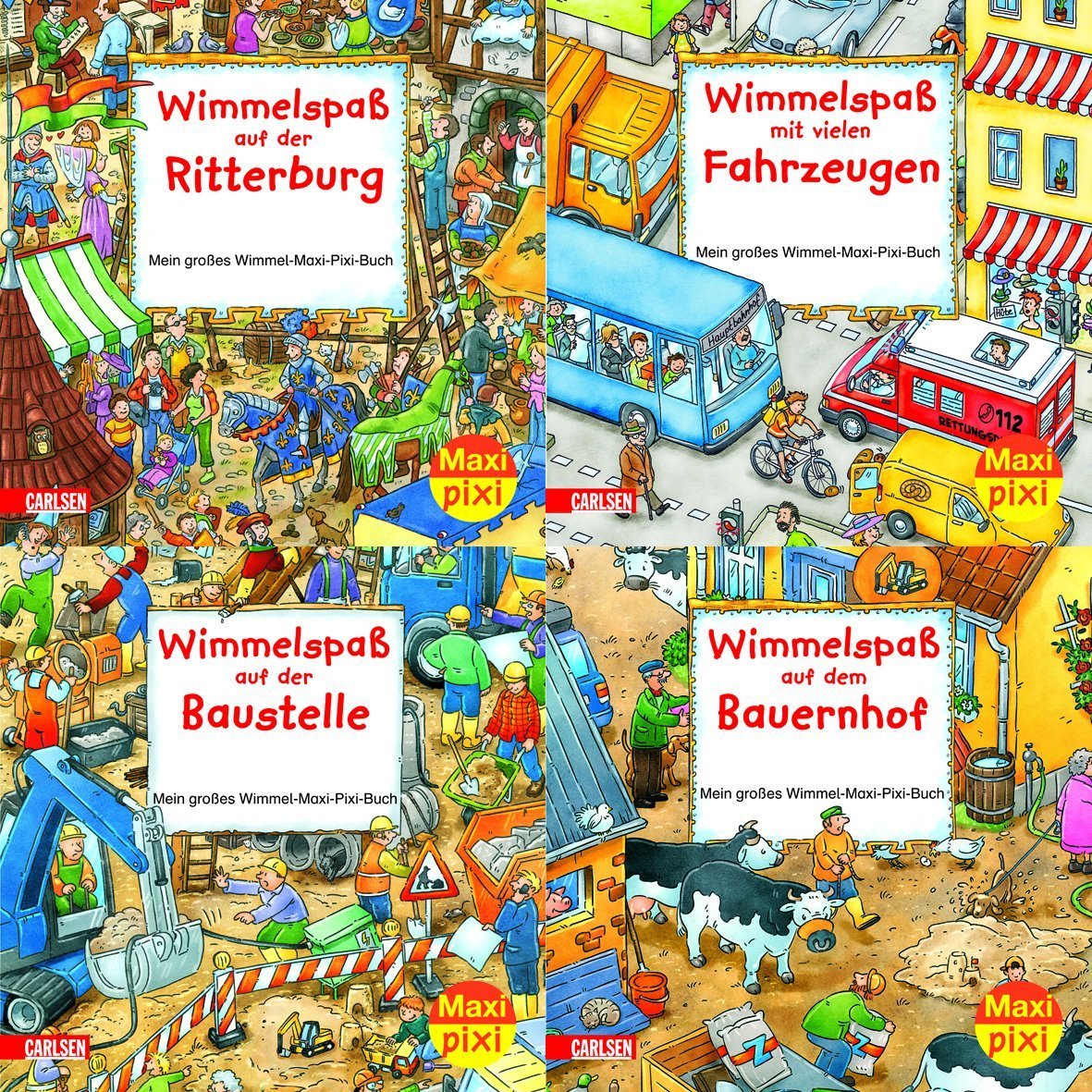 Maxi-Pixi Serie 2: Wimmelbilder