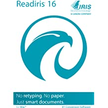 Readiris Pro 16 for Mac OS X - Conversion software [Download]