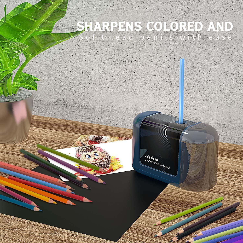 Elektro Spitzer Anspitzer Elektrisch Bleistift Spitzmaschine Helical Büro Stahl