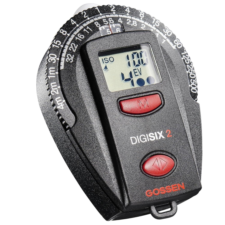 Gossen GO 4006-2 Digisix Light Meter 2 (Black)