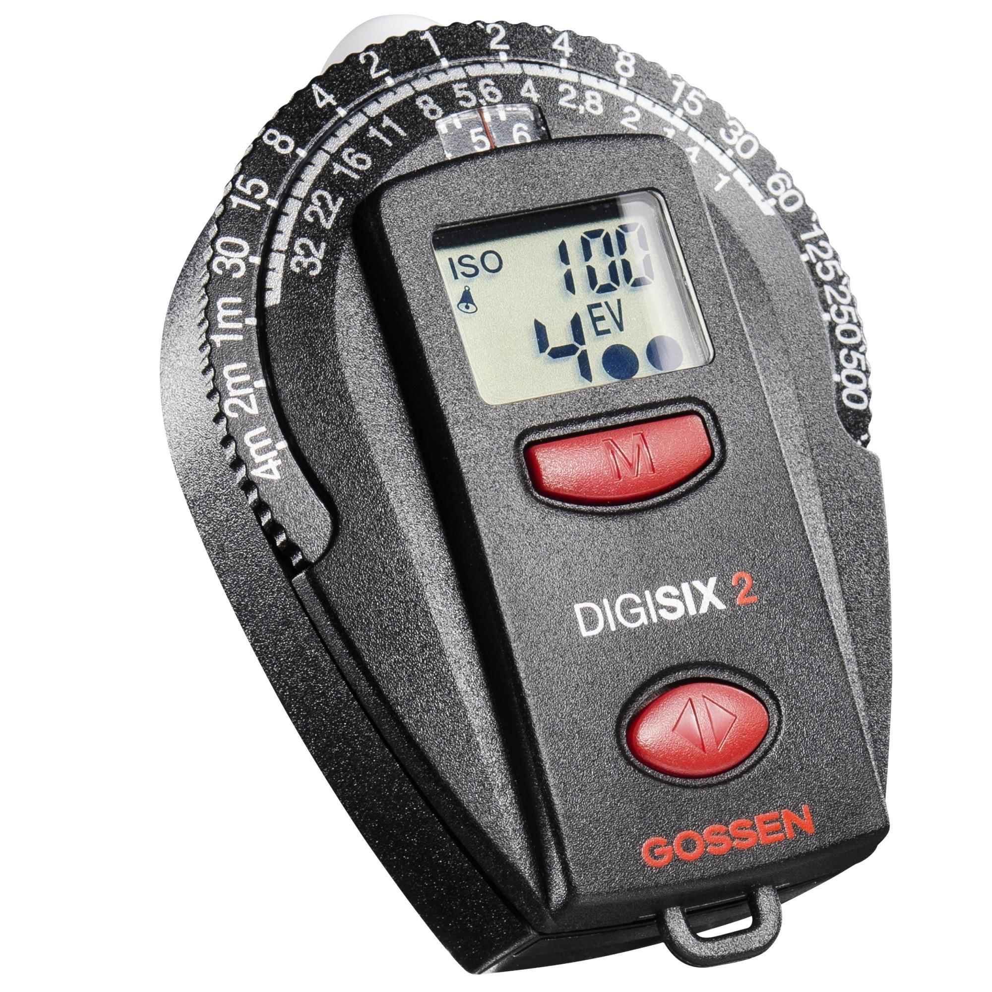 Gossen GO 4006-2 Digisix Light Meter 2 (Black) by Gossen