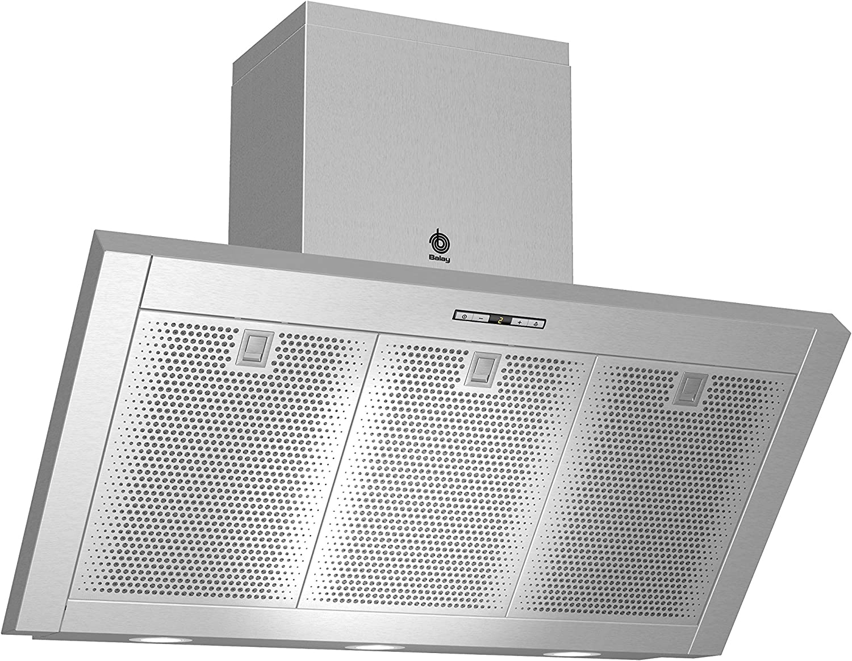 Balay 3BC8690M - Campana (650 m³/h, Canalizado/Recirculación, 330 m³/h, 48 dB, 53 dB, 55 dB): Amazon.es: Hogar