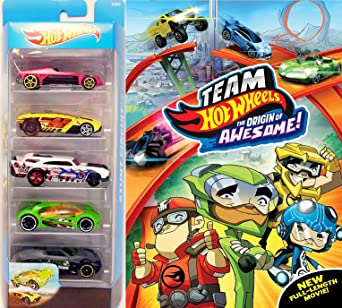 Amazon Com Drive Pack Team Hot Wheels Origin Of Awesome Cartoon