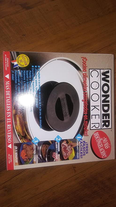Amazon.com: Wonder Cocina Miracle Tapa No más deshielo ...
