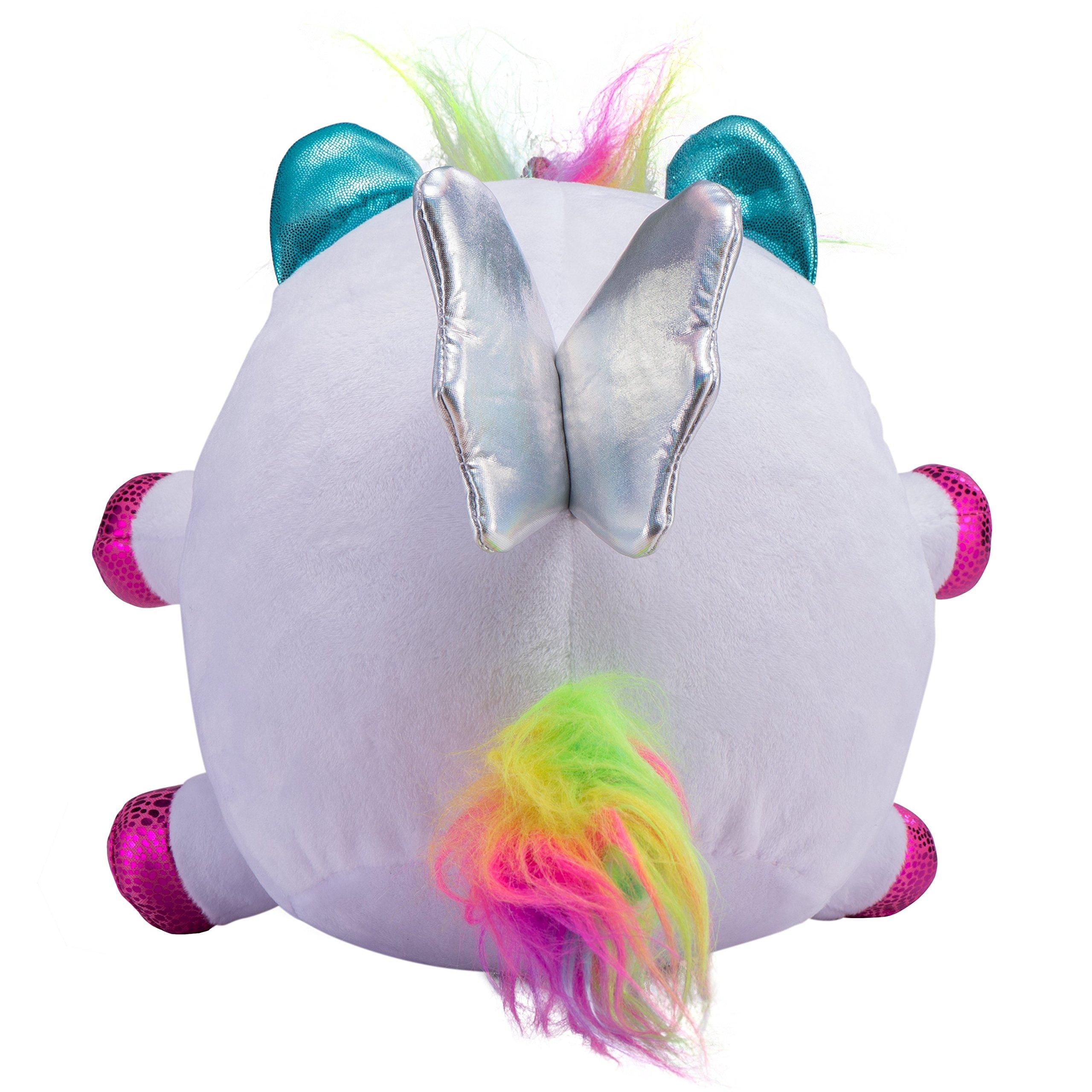 Rainbocorns Unicorn Plush Toy, White by Rainbocorns (Image #3)